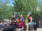 Dana Sipos, Ryan McNally and Eleuthera play Arts in the Park inWhitehorse