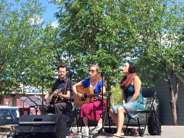 4- dana, ryan and elu, arts in the park