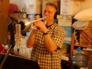 Ralph Denzer on trumpet